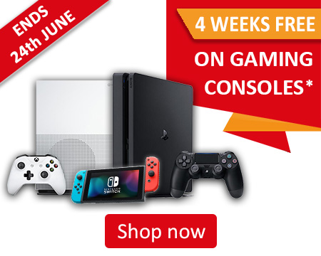 4 Weeks free on Gaming Consoles